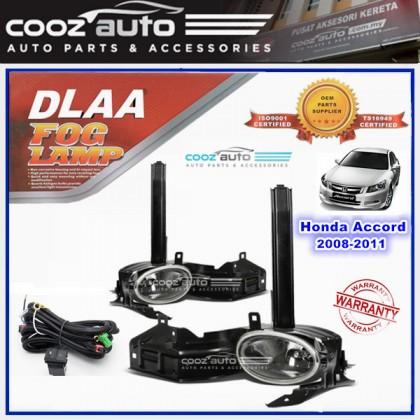 DLAA Honda Accord 2008 - 2011 Spotlight Fog lamp Fog light Foglamp Switch + Wiring