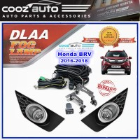 DLAA Honda BRV 2016 - 2018 Spotlight Fog lamp Fog light Foglamp Switch + Wiring