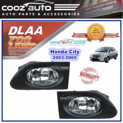DLAA Honda City 2003 - 2005 Spotlight Fog lamp Fog light Foglamp Switch + Wiring