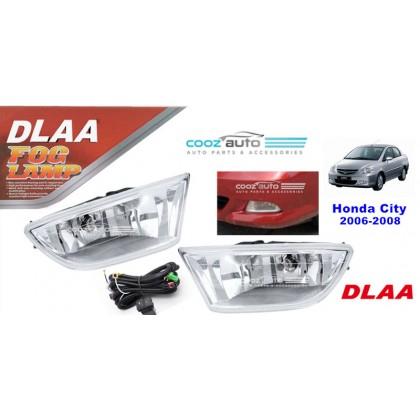 DLAA Honda City 2006 - 2008 Spotlight Fog lamp Fog light Foglamp Switch + Wiring