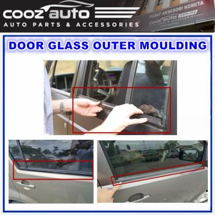 Proton Saga Iswara Door Glass Outer Moulding Getah Luar Cermin