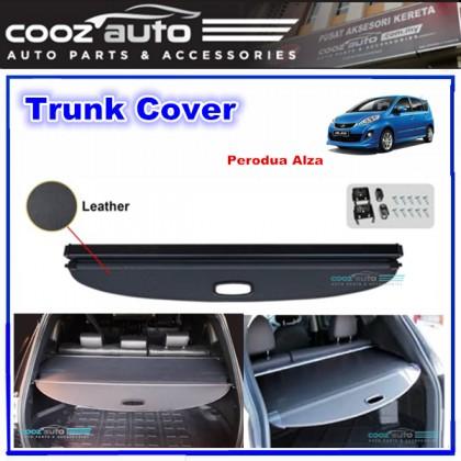 Perodua Alza Black Retractable Rear Cargo Cover Trunk Shade Boot Security Shield Blind