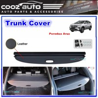 Perodua Aruz Black Retractable Rear Cargo Cover Trunk Shade Boot Security Shield Blind