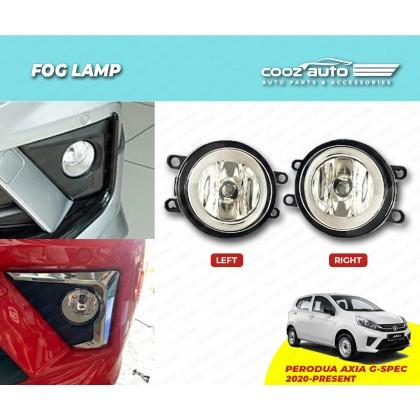 Perodua Axia G SPEC 2020 Front Fog lamp Fog light Foglamp complete wiring switch set