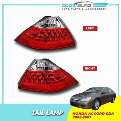 Honda Accord SDA 2006 - 2007 Rear Left & Right Side Taillight Taillamp Tail Lamp