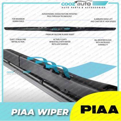 PIAA Aero Vogue Black Wiper 12 / 14 / 15 / 16 / 17 / 18 / 19 / 20 / 21 / 22 / 24 / 26 / 28 inch