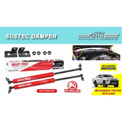 Mitsubishi Triton 2019 - 2020 Sustec Front Hood Damper Bonnet Gas Lifter TWIN STRUT