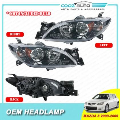 Mazda 3 2003 -2009 Front HeadLamp Head Lamp Light (No Bulb)