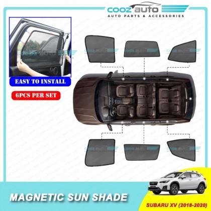 Subaru XV 2018 - 2020 Magnetic Sun Shade Sunshade 6Pcs