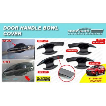 Mitsubishi XPander 2020 Matte Black Door Handle Inner Bowl Inserts Cover
