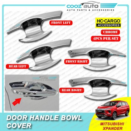 Mitsubishi XPander 2020 Chrome Door Handle Inner Bowl Inserts Cover