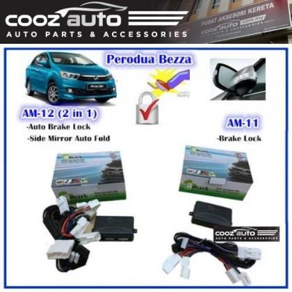 Foot Brake Lock Side Mirror Auto Folding Perodua Bezza Plug And Play