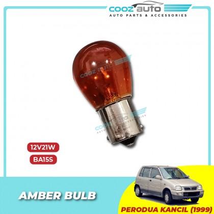 Perodua Kancil Bumper lamp Socket + Amber Bulb 12V21W BA15S