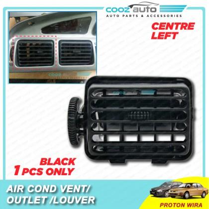 Proton Wira Satria Arena Putra Black Air Cond Conditional Outlet Vent Louver Casing Black