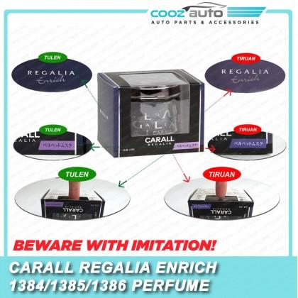 Carall Regalia Enrich Silky Veil Platinum Squash Velvet Musk Car Air Freshener Perfume