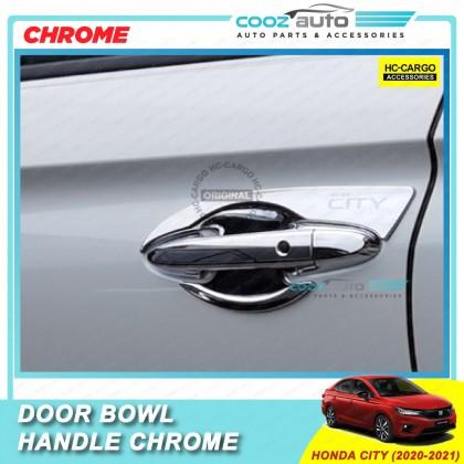 Honda City 2020 - 2021 Chrome Door Handle Inner Bowl Inserts Cover