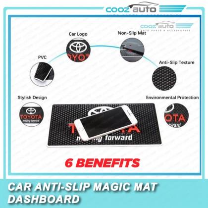 Universal Car Anti Non Slip Logo Magic Mat Dashboard Cover