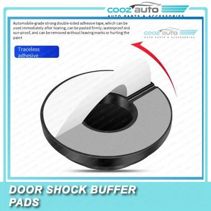Universal Car Door Anti Shock Buffer Absorber Soundproof Sticker Pad Rubber Gasket (8PCS)