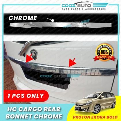 Proton Exora 2009 - 2020 Hc Cargo Rear Bonnet Trunk Tailgate Tail Gate Garnish Chrome