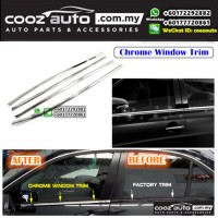Nissan Livina X-Gear Window Chrome Lining / Door Belt Moulding