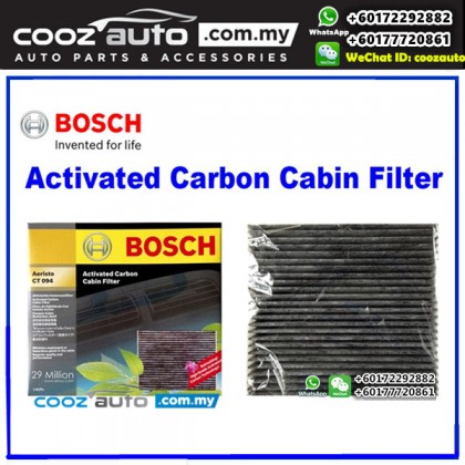 Toyota Hilux Vigo 2005-2015 Bosch Activated Carbon Cabin Air Cond Aircon Replacement Filter