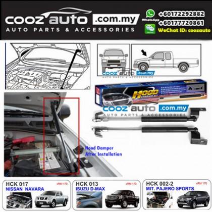 Mitsubishi Pajero Sports 2013-2015 Hood Carrier Kit Front Hood Damper Bonnet Gas Lifter TWIN STRUT