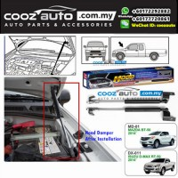 Mazda BT50 BT-50 2014-2017 Hood Carrier Kit Front Hood Damper Bonnet Gas Lifter TWIN STRUT