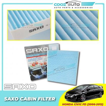 Honda Civic FD 2006 - 2012 Saxo Cabin Air Cond Aircond Replacement Filter