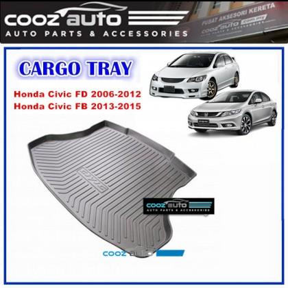 Honda Civic FD / FB 2006 - 2015 Luggage / Boot / Cargo Tray