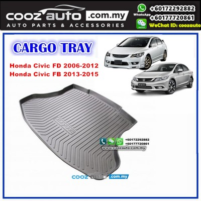 Honda Civic FD / FB 2006 - 2015 Luggage / Boot / Cargo Tray