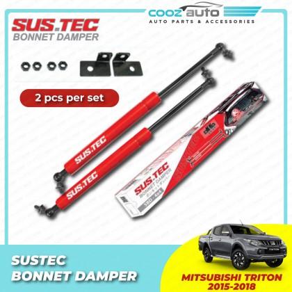 Mitsubishi Triton 2016-2017 Sustec Front Hood Damper Bonnet Gas Lifter TWIN STRUT