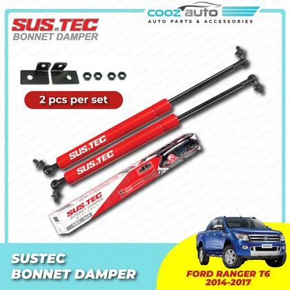 Ford Ranger T6 2014-2017 Sustec Front Hood Damper Bonnet Gas Lifter (Twin Strut)