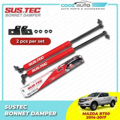 Mazda BT50 BT-50 2014-2017 Sustec Front Hood Damper Bonnet Gas Lifter (TWIN STRUT)