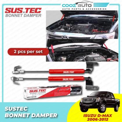 Isuzu Dmax D-max 2005-2012 Sustec Front Hood Damper Bonnet Gas Lifter TWIN STRUT