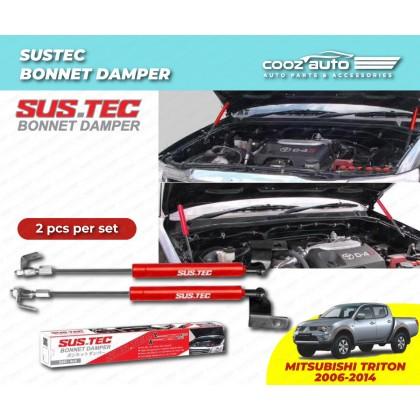 Mitsubishi Triton 2006-2013 Sustec Front Hood Damper Bonnet Gas Lifter TWIN STRUT
