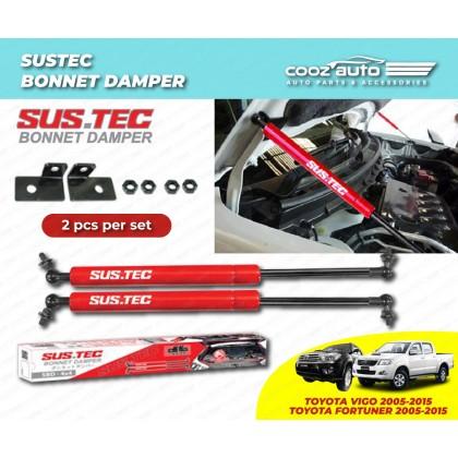 Toyota Hilux Vigo 2006-2013 Sustec Front Hood Damper Bonnet Gas Lifter TWIN STRUT