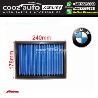 BMW 325 328 E36 E39 E46 M3 L6 Works Engineering Simota Washable Drop In Air Filter