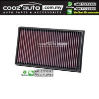 AUDI A3 1.8 / 2.0 2013-2016 K&N High Performance Stock Replacement Washable Air Filters