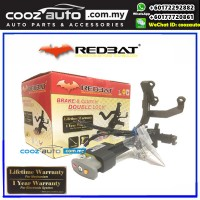 Honda Accord 2008-2012  Redbat High Security Anti-Theft Double Brake Pedal Lock with Socket Immobilizer