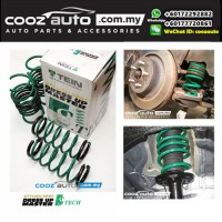 Honda City Fit Jazz GE GK 2008-2017 Tein S-Tech Lowered Lowering Sport Spring