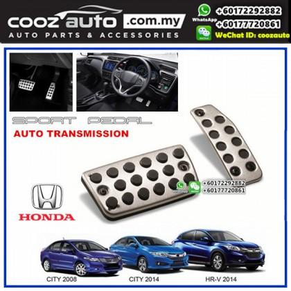 Honda HRV HR-V Automatic Transmission (AT) Aluminium Auto Sports Foot Pedals