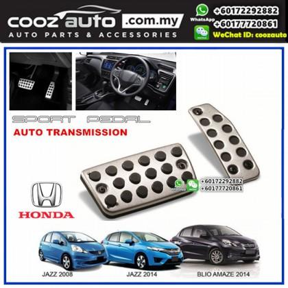 Honda Jazz 2008-2013 Automatic Transmission (AT) Aluminium Auto Sports Foot Pedals
