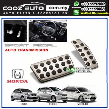 Honda Mobilio Automatic Transmission (AT) Aluminium Auto Sports Foot Pedals