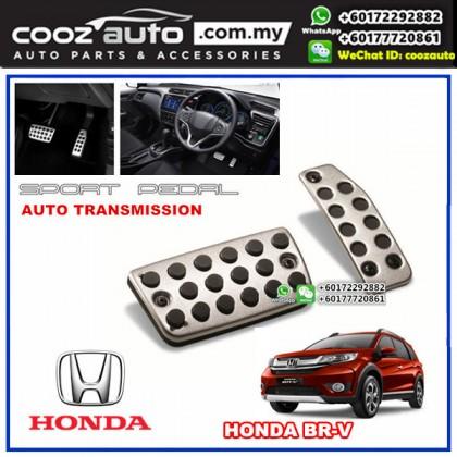 Honda BR-V BRV Automatic Transmission (AT) Aluminium Auto Sports Foot Pedals