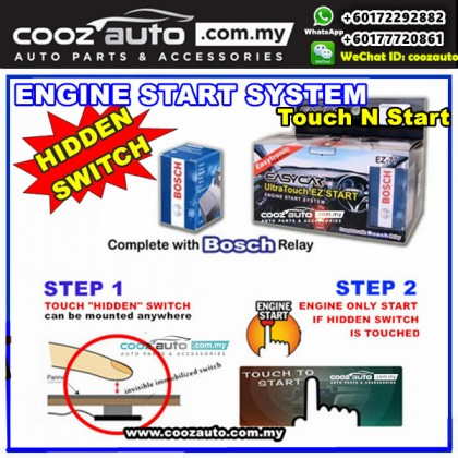 Honda Mobilio EasyCar ANTI-THEFT Ultra Touch n Start Invisible Hidden Switch Engine Start System