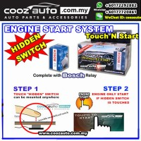 Mitsubishi Triton EasyCar ANTI-THEFT Ultra Touch n Start Invisible Hidden Switch Engine Start System