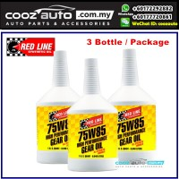 RED LINE REDLINE 75W85 GL-5 DIFFERENTIALS GEAR OIL ( 4 BOTTLE )