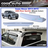 Isuzu Dmax D-max 2013-2015 ABS Rear Roof Spoiler (Black Color)