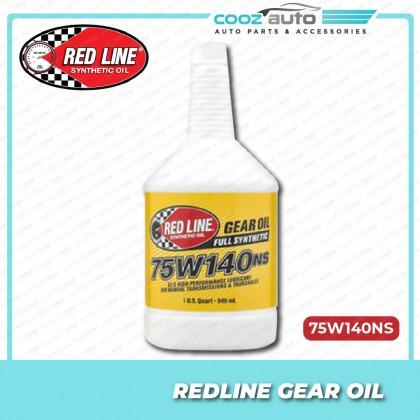 RED LINE RedLine 75W140NS GL-5 GEAR OIL FOR DIFFERENTIALS ( 1 BOTTLES )