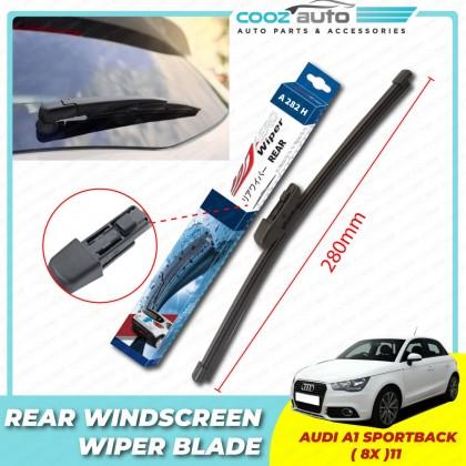 "Audi A1 Sportback 8X Bosch Rear Windscreen Flat Wiper Blade 11"" (280mm)"
